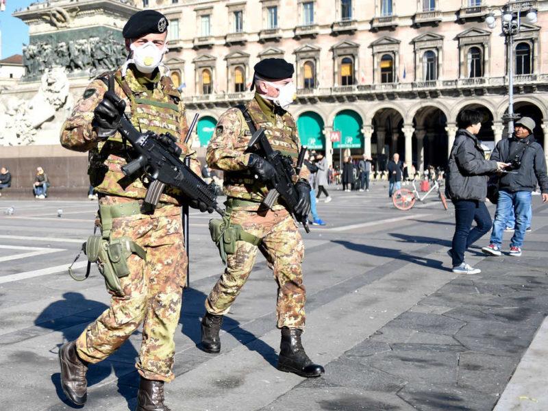 pandemia militari