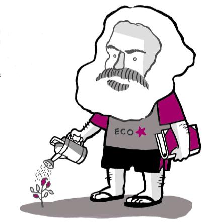 radici ecologia marx ecosocialista